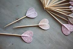 Dekorácie - Candy bar - napichovátka (zápich) - 9252432_