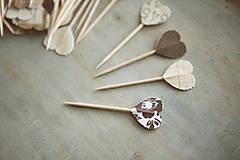 Dekorácie - Candy bar - napichovátka (zápich) - 9252497_