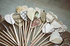 Dekorácie - Candy bar - napichovátka (zápich) - 9252501_