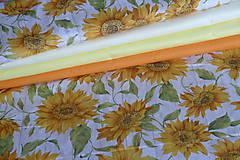 Textil - Látka Slnečnice na režnej - 9251224_