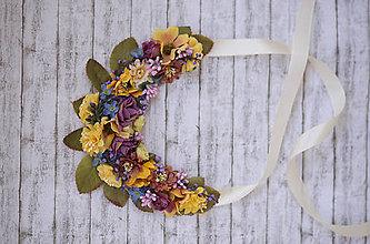 Náhrdelníky - Kvetinový náhrdelník - 9251413_