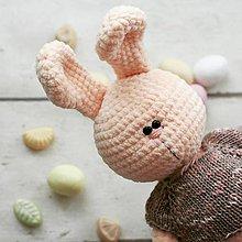 Hračky - Mačka Daša (Zajačik) - 9248983_