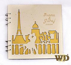 Papiernictvo - Kniha hostí Noc v Paríži - 9252929_