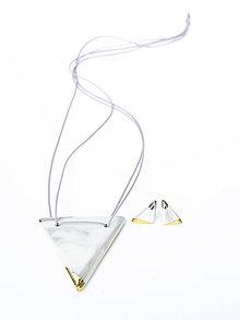 Sady šperkov - nežná geometria - 9252157_