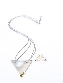 Sady šperkov - nežná geometria - 9252193_