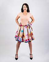 Sukne - Zavinovacia sukňa s dizajnovou potlačou Ballet schoes (z akrylovej maľby) - 9249444_