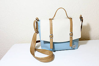 Kabelky - KATIE spring I. modrá - 9250430_