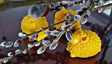 Dekorácie - Beránek z včelího vosku - 9252666_