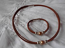 Sady šperkov - Súprava náhrdelník + náramok - 9250510_