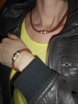 Sady šperkov - Súprava náhrdelník + náramok - 9250511_