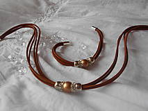 Sady šperkov - Súprava náhrdelník + náramok - 9250512_