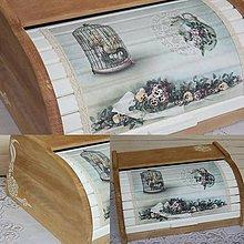Nádoby - chlebníček vo vidieckom štýle - skladom - 9250140_