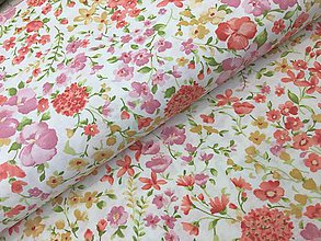 Textil - Dekor bavlna Taliansko -JARNE BAVLNY - 9251015_