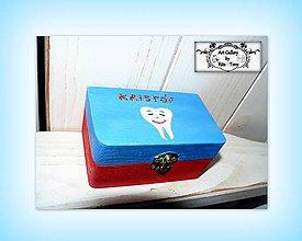Detské doplnky - Krabička na prvé vypadnuté zúbky :) - 9251026_