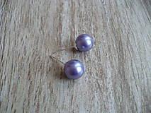- napichovačky z perál (Fialová) - 9252600_