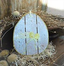 Dekorácie - Závesná dekorácia: Veľkonočné vajíčko - 9254117_