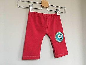 Detské oblečenie - Legíny s príšerkou - 9255076_