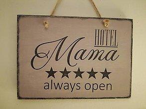 """Tabuľky - """"tabuľka """" MAMA hotel"""" - 9254955_"""