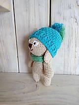 Hračky - Zajko s čiapočkou - 9254858_