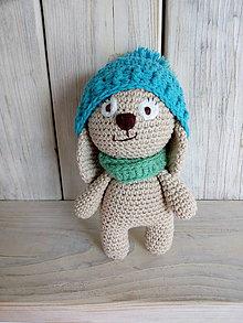 Hračky - Zajko s čiapočkou - 9254851_