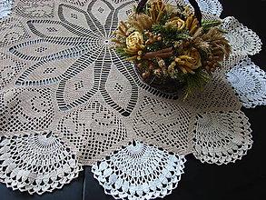 Úžitkový textil - veľký okrúhly trojfarebný - 9254377_