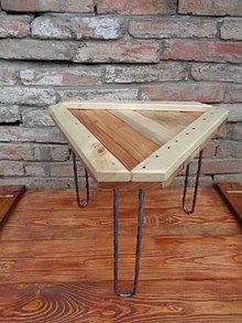"""Nábytok - Kávový stolík """"Ika"""" - 9257229_"""