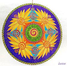 Dekorácie - Spiral Mandala 3 - 9256209_