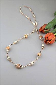 Náhrdelníky - pravé perly náhrdelník luxusný - 9257170_