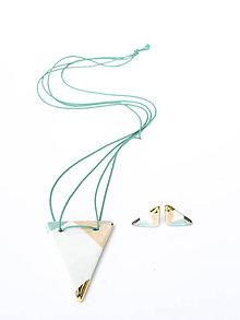 Sady šperkov - nežná geometria - 9253706_