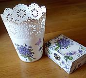 Kvetináč - Fialky