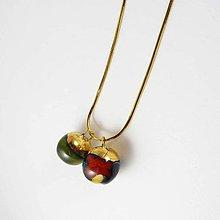 Náhrdelníky - Tana šperky - keramika/zlato - 9257452_