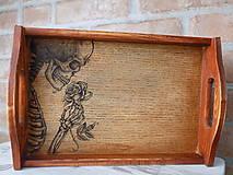 Nádoby - Kolekcia Skeleton - Tácka - 9253642_