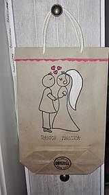 Darčeky pre svadobčanov - EKOtaštičky na svadobnú výslužku pre svadobčanov :-) - 9255140_