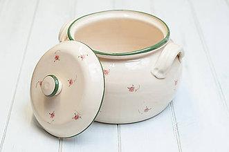 Nádoby - Romantický hrniec na varenie - 9253196_