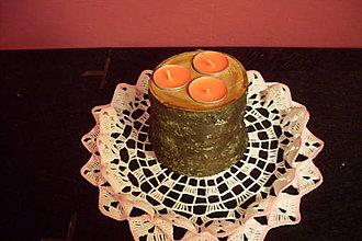 Svietidlá a sviečky - originál zo záhradky - 9257414_