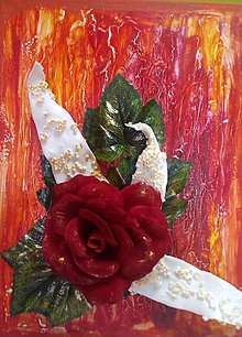 Obrazy - Obraz na stenu s ružičkou - 9254727_