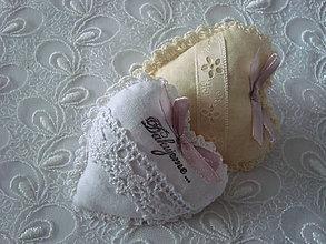 Darčeky pre svadobčanov - Svadobné srdiečko - 9253833_