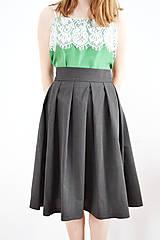 Sukne - Univerzálna záhybová sukňa - 9255254_