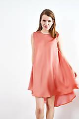 Šaty - Kruhové šaty s jemným bodkovaním - 9255700_