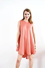 Šaty - Kruhové šaty s jemným bodkovaním - 9255809_