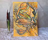 Kresby - v záhrade - 9259600_