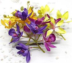 Ozdoby do vlasov - 31. Orchidee - 1 kvet - 9258177_