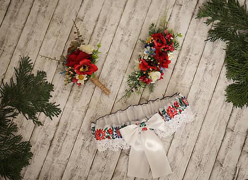 Pierka - Folklórne svadobné pierko - 9262629_