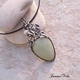 Náhrdelníky - Láska, peníze, dlouhověkost... náhrdelník - 9258223_