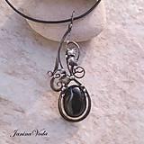 Náhrdelníky - FOTINI.. náhrdelník - 9258350_