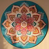 Dekorácie - Mandala jemnej ženskosti a komunikácie - 9262421_