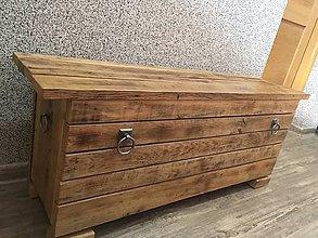 Nábytok - Komoda zo starého dreva - 9258128_
