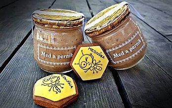 Potraviny - Pastovaný med a perníkové koření - 9259905_