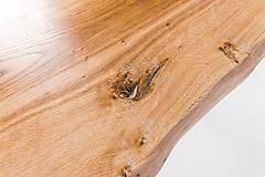Nábytok - Konferenčný stolík s bielymi kovovými nožičkami - 9260780_