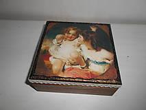 Krabičky - Krabička pre mladé dámy - 9260133_